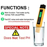 Water TDS Meter, Digital Water Quality Tester for