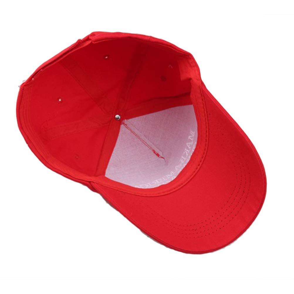 f/ür Das amerikanische Pr/äsidentenamt Donald Trump US Wahl-Hut Einstellbare Laduup American Flag Baseball Cap Unisex America Great Again
