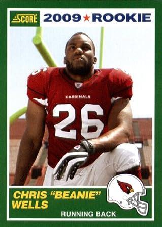 Amazoncom 2009 Score1989 Score Football Rookie Card 10 Chris