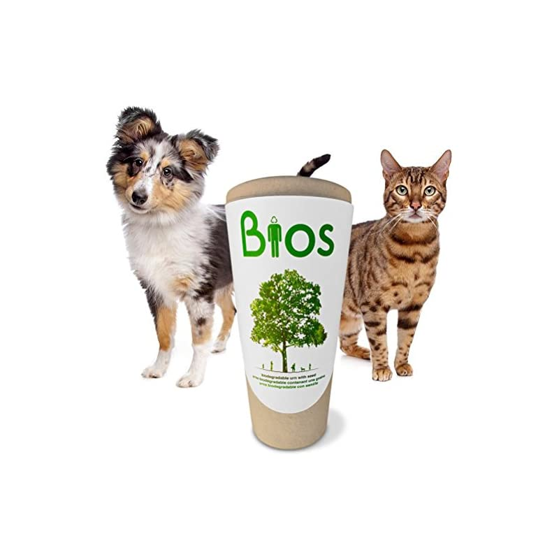 dog supplies online bios memorial pet loss urn for your dog, cat, bird, horse or small animal. death becomes a transformation as your beloved pet's ashes are returned to life by means of nature. grow a tree. 100% biodegradable. 100% made with love.