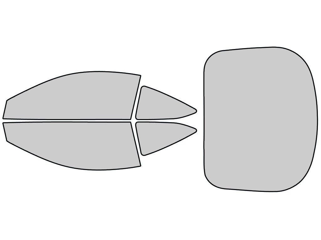 5/% Rtint Window Tint Kit for Acura RSX 2002-2006 Windshield Strip