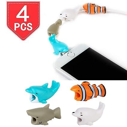 Amazon.com: PROLOSO Cable Bite Protector Cargador Saver ...