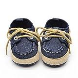 Hot Sale ! Kstare Newborn Baby Boys Girls Premium Soft Sole Infant Prewalker Toddler Sneaker Shoes (0~6 M, Dark Blue)