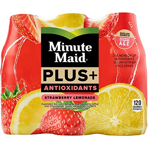 ioxidants Strawberry Lemonade 6 - 10 oz Bottles (Pack of 2) ()