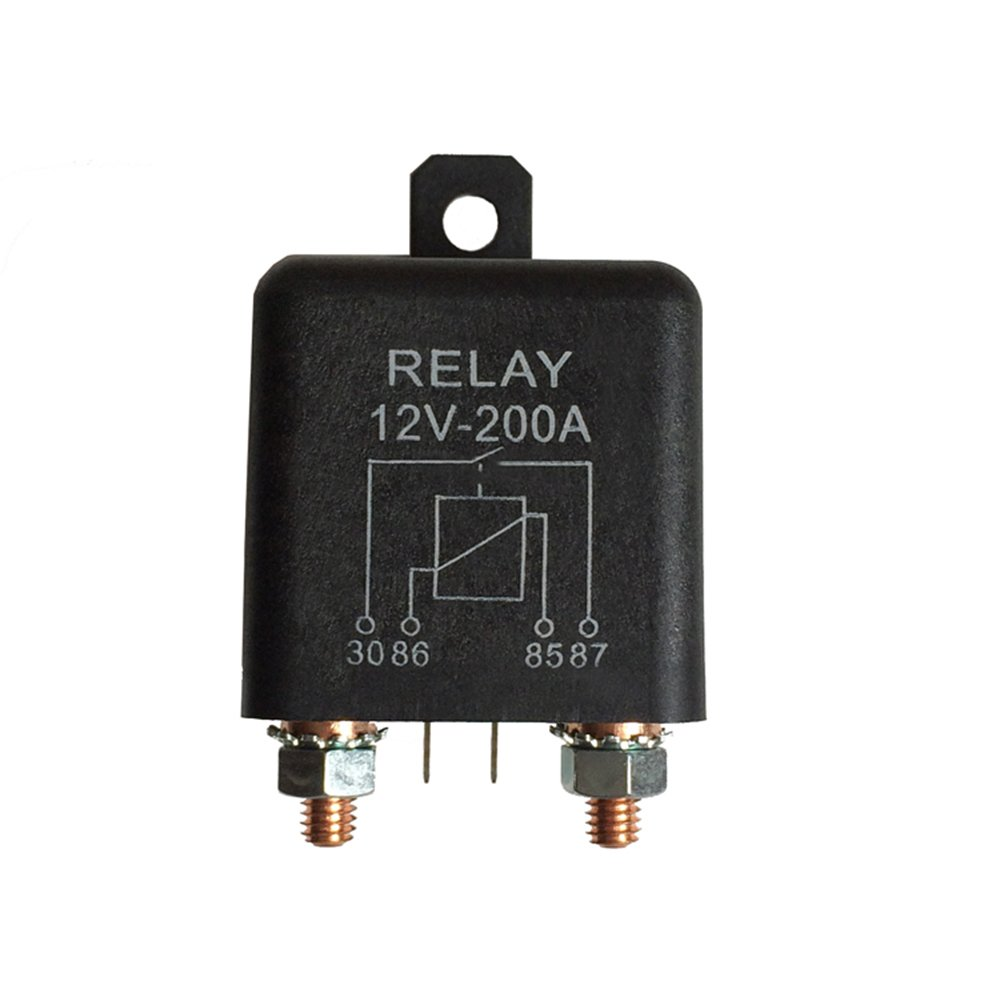 Car Truck Motor Automotive high current relay 12V 200A 2.4W Continuous type Automotive relay car relays Ogry