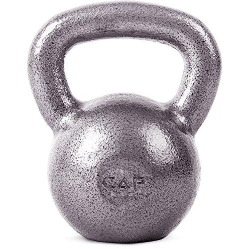 CAP Barbell Cast Iron Kettlebell, 80 lbs by Cap