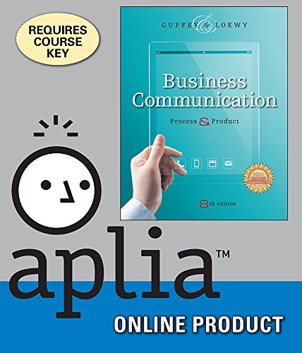 aplia-with-student-premium-website-for-guffey-loewys-business-communication-process-and-product-8th-