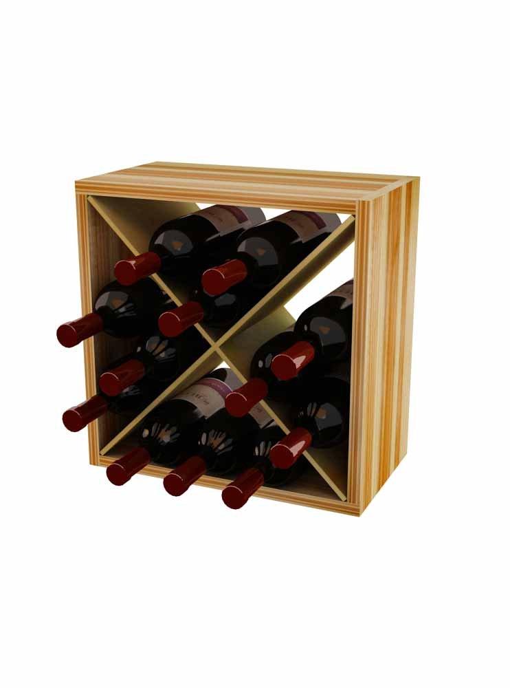 Wine Storage Cube Wine Rack for 12 Bottles
