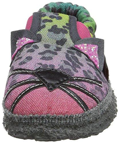 Giesswein ASCHAU, Zapatillas de estar Por Casa Unisex Niños Rosa (Himbeer)
