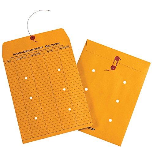 - Boxes Fast BFEN1090 Inter-Department Envelopes, 9