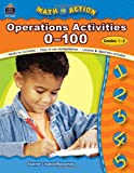 img - for Math in Action: Operation Activities 0-100 (Math in Action series) book / textbook / text book