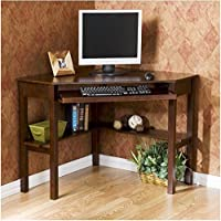 Upton Home Wood Corner Computer Desk