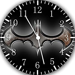 Batman Frameless Borderless Wall Clock E151 Nice for Gift or Room Wall Decor