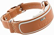 Link AKC Smart Dog Collar with GPS Tracker & Activity Monitor (Leather or Sp