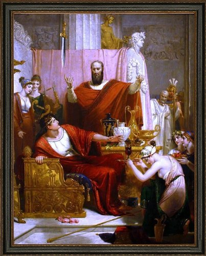 Art Oyster Richard Westall The Sword of Damocles - 21.05