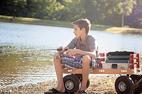 Red Wagon For Kids Made In The Usa Hardwood