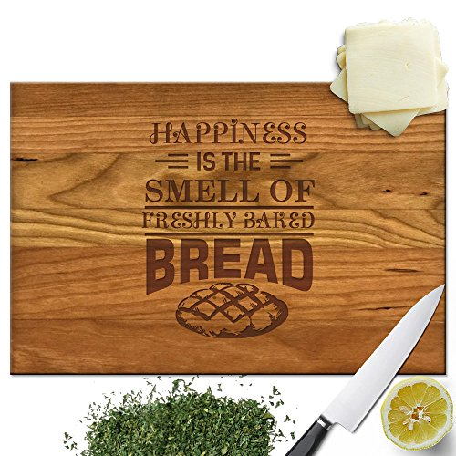 Froolu Baked Bread Baker wood cutting board for Bakery Owner Gift Ideas Christmas Gifts