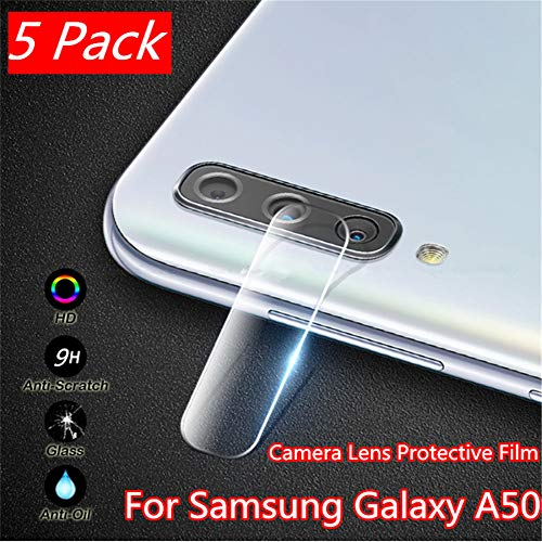 Interesting 5 Pack Clear Tempered Glass Rear Camera Lens Compatible Samsung Galaxy A50 Protective Protective Film