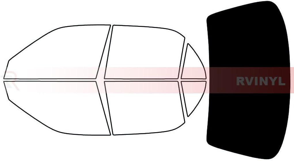20/% Rtint Window Tint Kit for Toyota Corolla 1998-2002 Back Kit