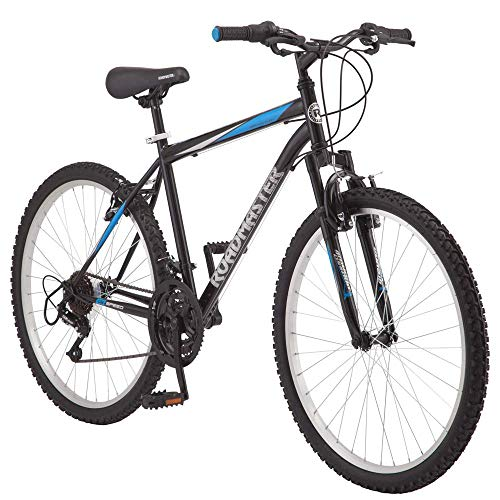 Roadmaster - 26 Inches Granite Peak Men's Mountain Bike, Black/Blue (Bicycle)