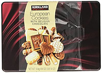 Kirkland Signature European Cookies with Belgian Chocolate, 49.4 Ounce by UCCI (European Credit and Commerce International)