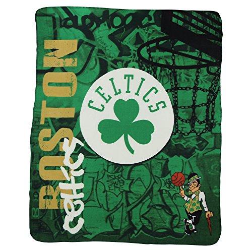 "The Northwest Company NBA Lightweight Fleece Blanket (50"" x 60"") - Boston Celtics"