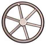 18.00'' Dia. X 3 7/8'', 6 Spoke Dished/Offset, Blank, Cast Iron, HandWheel (1 Each)