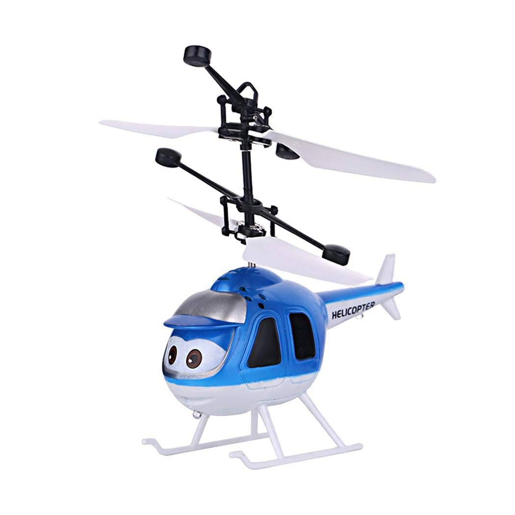 comfi1 Kids Infrared Induction Helicopter Drone Gravity Sensor Charging Floating Suspension Flying Toys