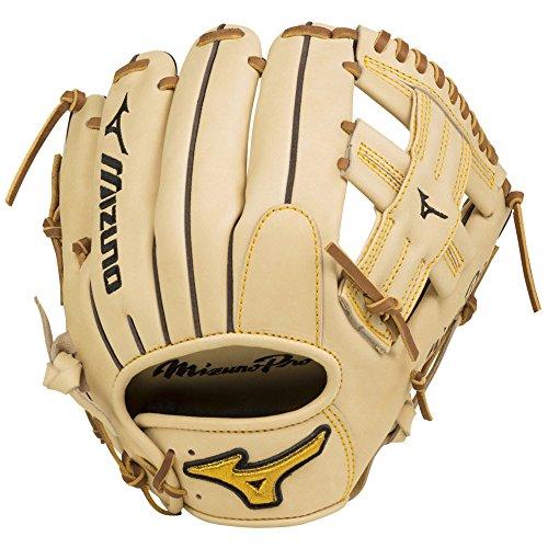(Mizuno GMP2-600R Mizuno Pro Infield/Pitcher Baseball Glove, Tan,11.75