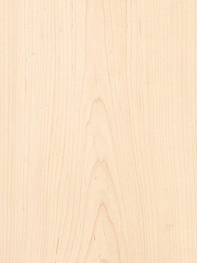 Maple Veneer Flat Cut 4 x 8 10 Mil Backer.