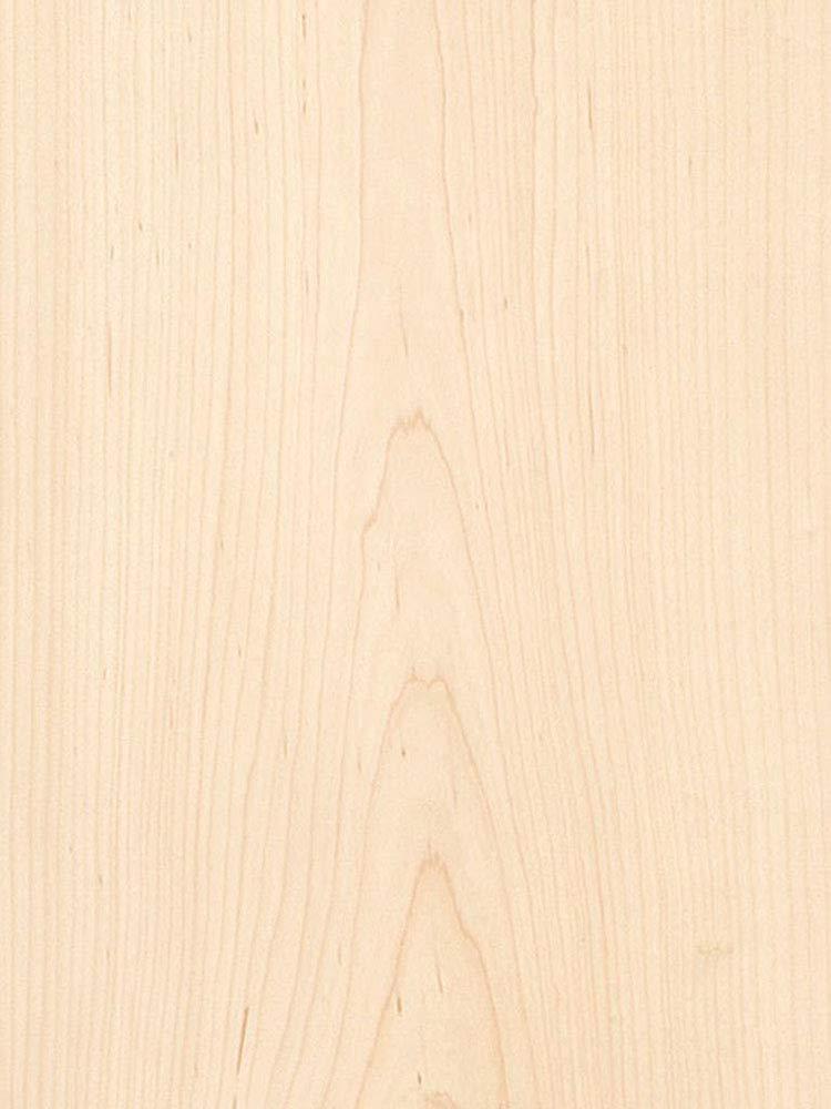 Maple Veneer, Flat Cut, 4 x 8, 10 Mil Backer. by Veneer Tech