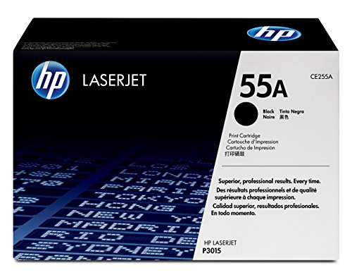 HP CE255A 55A Original LaserJet Toner Cartridge Black by HP