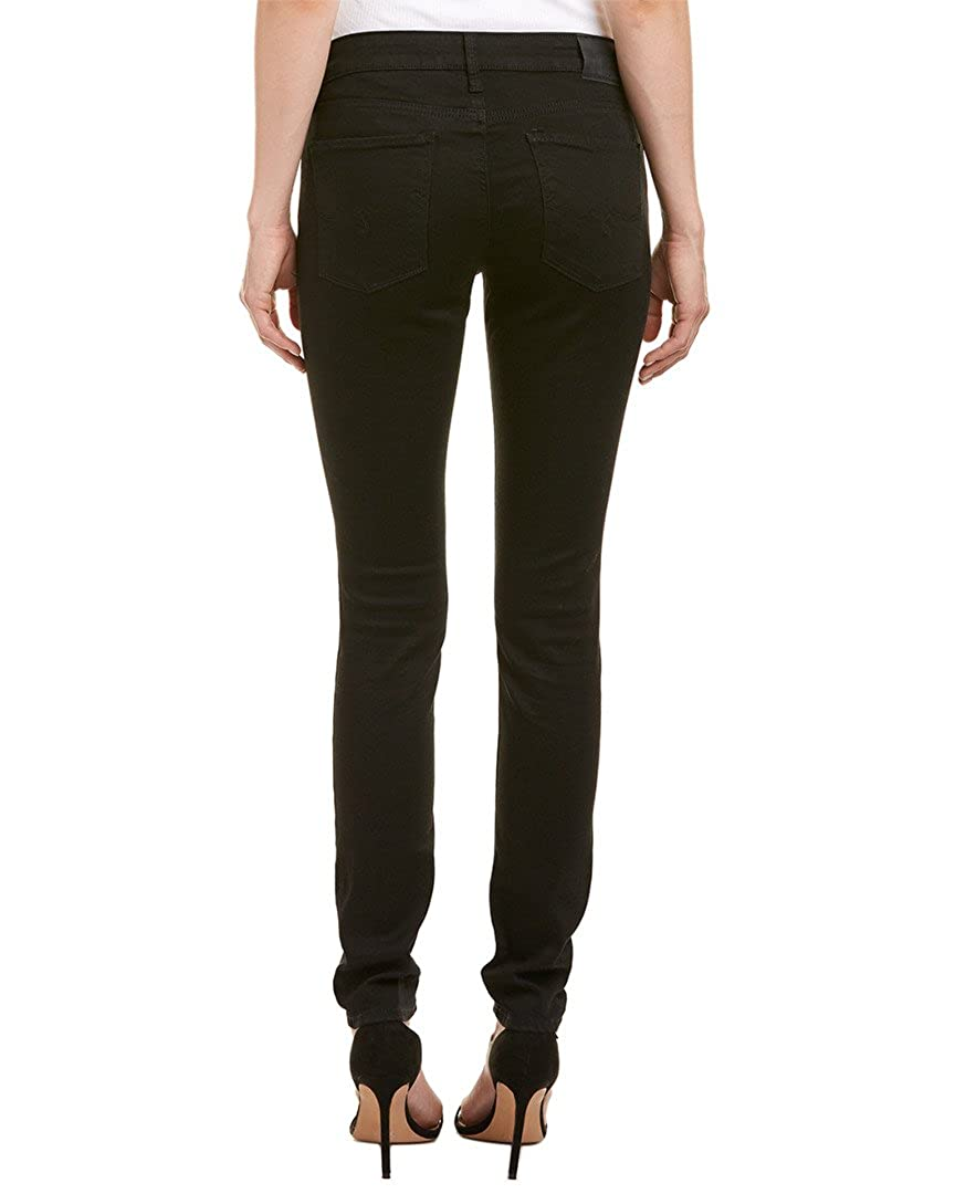 Lucky Brand Womens Mid Rise Lolita Skinny Jean in Black Amber