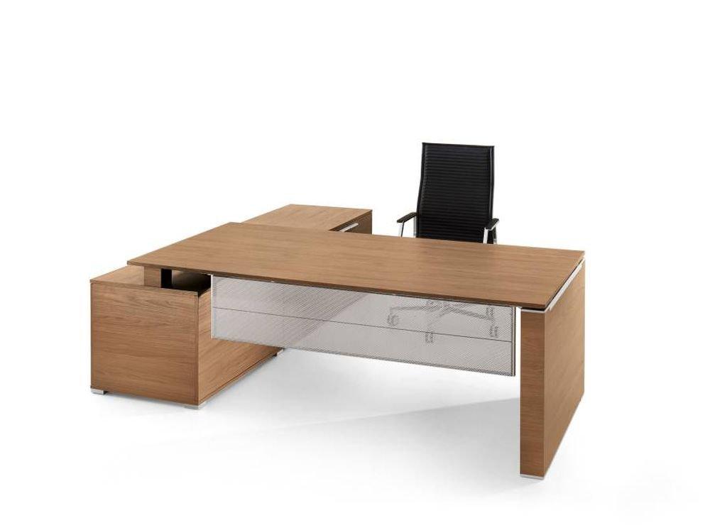 Schreibtisch mit Sideboard JET Design Chefschreibtisch, Chefzimmer ...