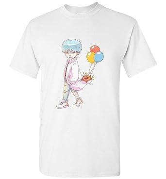 Amazon Com Chibi Dna Min Yoongi Suga Vs Shooky T Shirt Bts Rm Jin