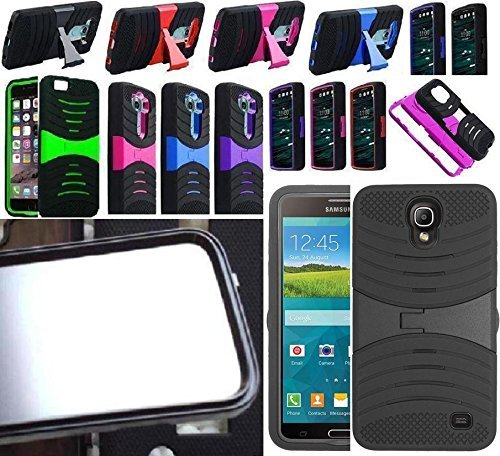 [ NP ARMOR ] Built in Screen Guard Protector Faceplate Phone Cover Case for Samsung Galaxy Mega 2 / G750 SM-G750 G750F G750H G750A G7508 ()