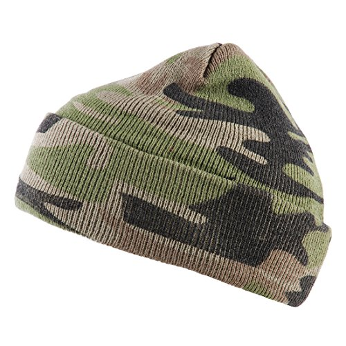 Camouflage Beanie Woodland Colore Commando Alxshop O0qw5H4