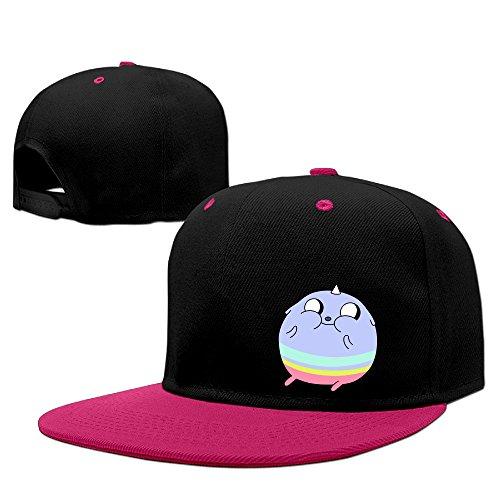 SUPMOON Adventure Time Cool Snapback Pink