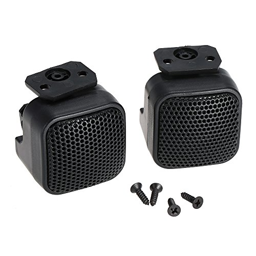 (Walmeck Super Power Loud Audio Square Design Tweeter for Car Auto a Pair)