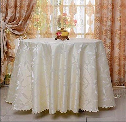 LHL-ZQ Restaurant Gasthaus Restaurant Circular Europäischen Stil Jacquard rot Tischdecke Tischdecke Haushalt Mode Tischdecke (Farbe   B, größe   2.6m) B01M6EBON3 Tischdecken Stil     | Spielen Sie auf der ganzen Welt und verhindern Sie, da