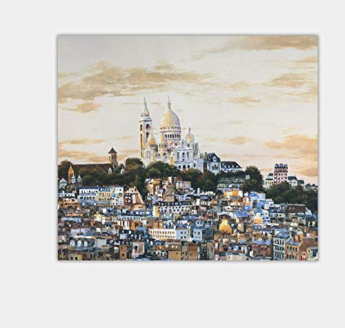 mas preferencial HIMAmonkey Notre Dame de Paris Pintura Pintada A A A Abstractos Lienzo Arte Sala De EEstrella Dormitorio DecoracióN para,70  70  compra en línea hoy