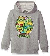 Nickelodeon Little Boys' TMNT Pullover Sweatshirt