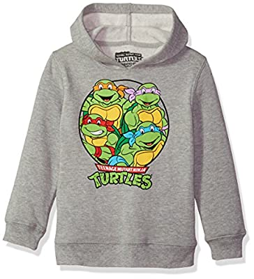 Nickelodeon Little Boys' TMNT Pullover Sweatshirt