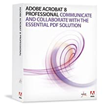 Adobe Acrobat Professional 8 (Mac) [OLD VERSION]