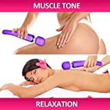 Therapeutic Wand Massager - Handheld Cordless and