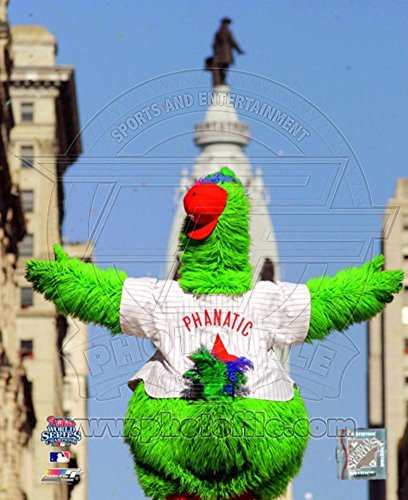 The Philly Phanatic 2008 World Series Parade Photo 11 x (Philly Phanatic World Series)