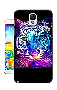 MaskShow The blue tiger TPU Phone Case For Samsung Note3
