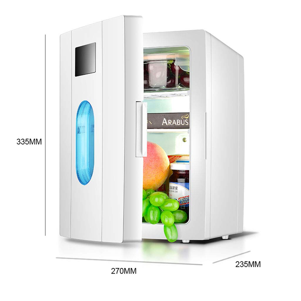 10L Mini Nevera, Sola Puerta Portátil Frigorífico Refrigeracion ...