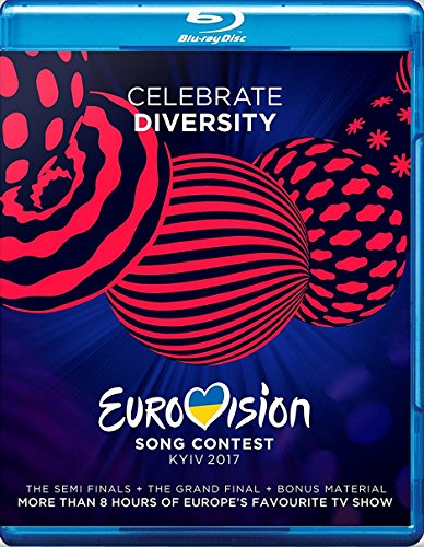 Blu-ray : Eurovision Song Contest 2017 / Various (Holland - Import, 3 Disc)