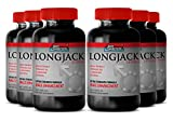 Tongkat Ali Root Capsules - Longjack 2170mg - Increase Sexual Performance, Desire and Promote Sex Drive with Herbal Longjack Supplement (6 Bottles 360 Capsules)
